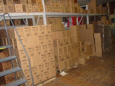 Boxes of Oil Eater Degreaser & Oil Eater Cleaner