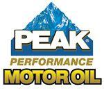 Peak Performance Motor Oil Logo