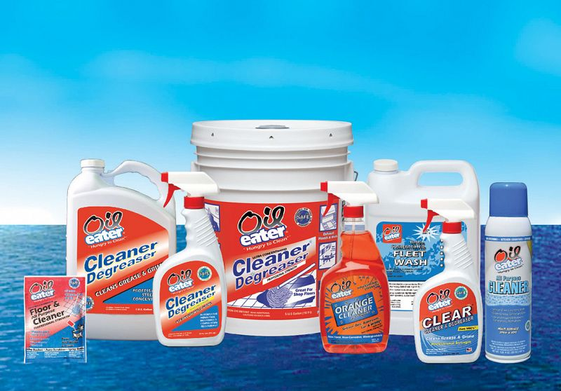 Oil Eater Cleaner / Degreaser bottles